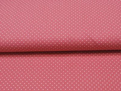 Petit Dots auf Blush- Baumwolle 05