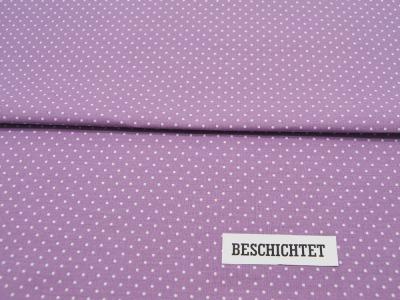 Beschichtete Baumwolle Petit Dots auf Helles