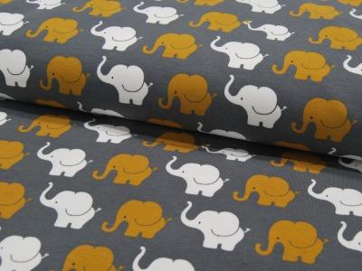 JERSEY Elephant Parade in Senf-Weiß 05m