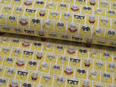 Baumwolle - Spongebob Emojis 05m