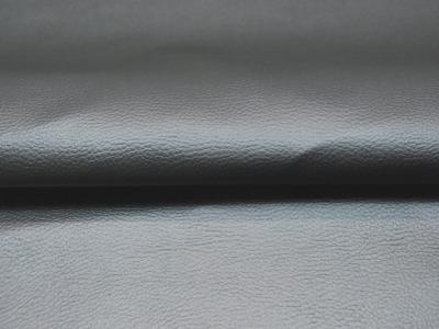 Kunstleder in Rauchblau Metallic Meter und