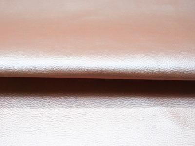 Kunstleder in Hellrosa Metallic - 0,5 Meter - ...und kein Tier musste für dieses Leder sterben