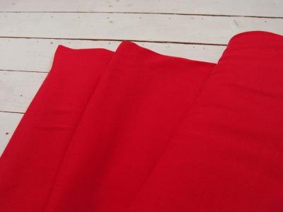 Leichtes Bündchen - Rot - 50 cm im Schlauch - Elastisches, leichtes Bündchen