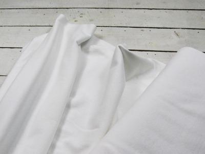 Leichtes Bündchen - Weiß - 50 cm im Schlauch - Elastisches, leichtes Bündchen