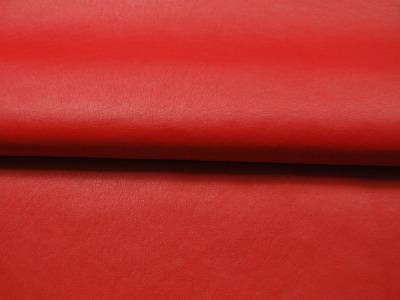 Weiches Kunstleder in Rot - 0,5 Meter - ...und kein Tier musste für dieses Leder sterben