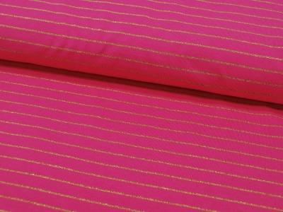 Jersey Goldene Streifen auf Pink Meter