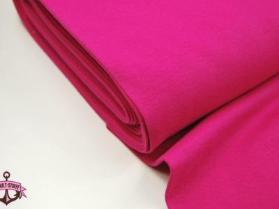 Leichtes Bündchen - Pink - 50 cm im Schlauch - Elastisches, leichtes Bündchen