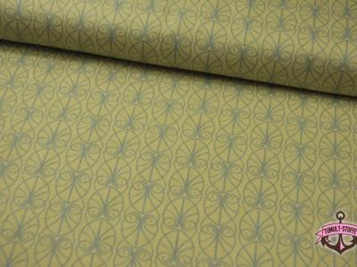 April Showers - Baumwolle mit Ornamente - 0,5 m