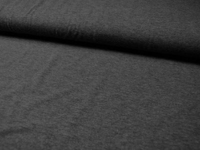 JERSEY - UNI: Dunkelgrau Meliert - 0,5 Meter