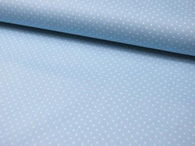 Petit Dots auf Hellblau - Baumwolle