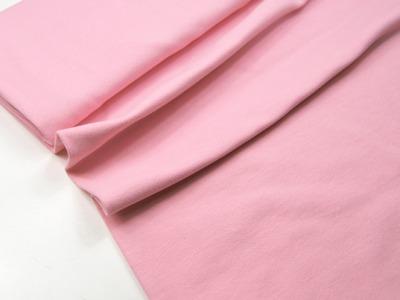 Leichtes Bündchen - Rosa - 50 cm im Schlauch - Elastisches, leichtes Bündchen