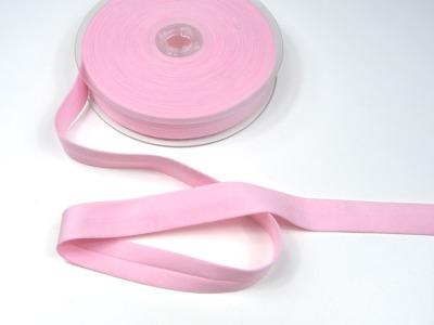 Baumwoll Schraegband - Rosa - 1 Meter - 2 cm breites Schraegband
