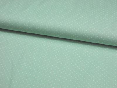 Petit Dots - auf Mint - Baumwolle 0,5m