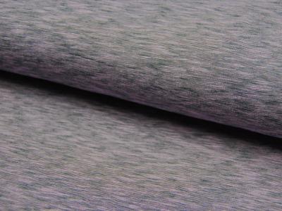 JERSEY - Stretch: Flieder Grau Meliert