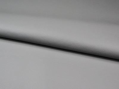 Kunstleder in Grau 0,5m - ...und kein Tier musste für dieses Leder sterben