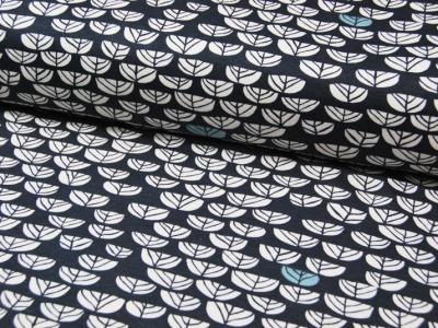 Jersey - BIO - Birch - Hidden Garden - 0.5m - Oranic Cotton - zertifizierte BIO Baumwolle