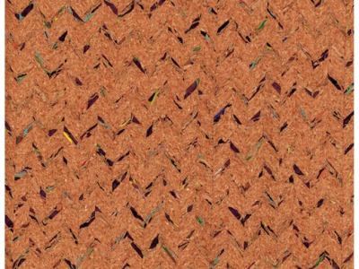 Korkstoff mit Einwebungen - Stück 50 x 60 cm - Wunderschönes Naturmaterial
