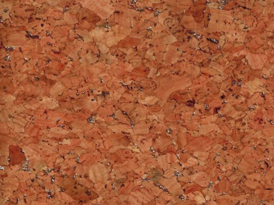 Korkstoff mit Silber Glitzer - Stueck 50 x 60cm - Wunderschoenes Naturmaterial