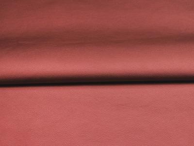 Kunstleder in Rot Metallic- Meter und
