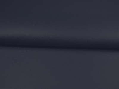 Kunstleder in Nachtblau Meter und kein