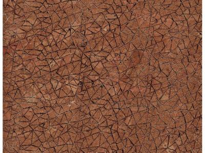 Korkstoff mit Glitzernetz - Stück 50 x 65 cm - Wunderschönes Naturmaterial