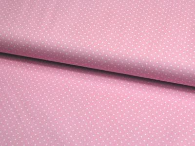 Petit Dots auf blasses Rosa - Baumwolle 0,5 m