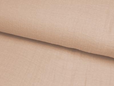 Musselin Uni Sandfarben 05m