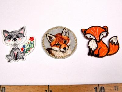 Aufbügler Set: Füchse - Für Fuchsfans