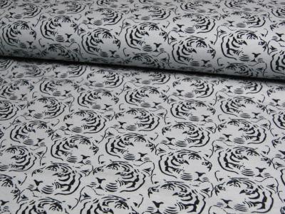JERSEY - Tigermuster - Ilja Fabrics 0,5m