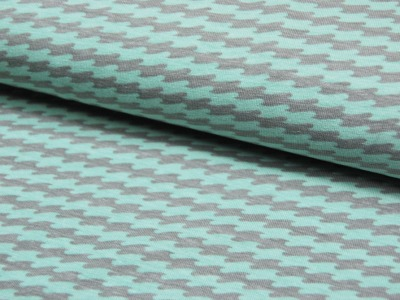 JERSEY - Wellenmuster - Ilja Fabrics 0,5m
