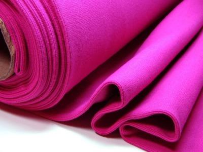 Buendchen Uni Pink 25cm im Schlauch - Einfarbig festes Buendchen