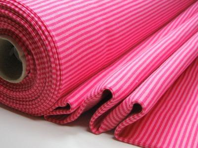 Buendchen Pink-Rosa 25cm im Schlauch - Gestreiftes festes Buendchen