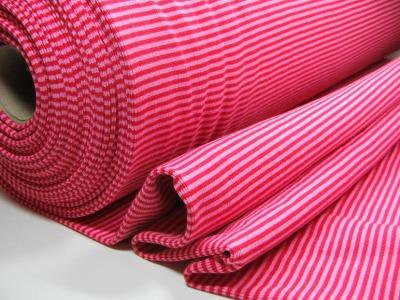 Buendchen in Rot-Rosa 25cm im Schlauch - Gestreiftes festes Buendchen