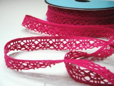 Haekelspitze in Pink - 1 Meter - Schoenes Zierband