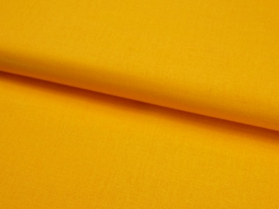 Sonnengelbe Baumwolle Uni 05 Meter