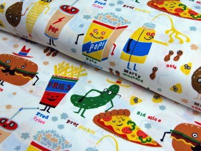 snappy snacks - Baumwolle von A. Henry 0,5 m