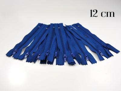 10 x 12cm mittelblaue Reißverschlüsse - 10 Reißverschlüße im Setsonderpreis