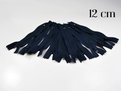 10 x 12cm nachtblaue Reißverschlüsse - 10 Reißverschlüße im Setsonderpreis