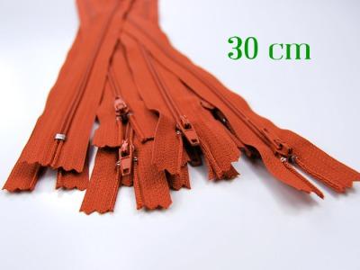 10 x 30cm fuchsfarbene Reißverschlüsse - 10 Reißverschlüsse zum Setsonderpreis
