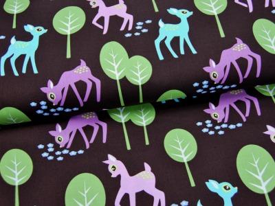 Pet Deer Baumwolle von Michael Miller 0,5m