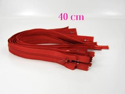 10 x 40 cm fuchsfarbene Reißverschlüsse - 10 Reißverschlüsse zum Setsonderpreis