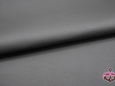 Kunstleder in Dunkelgrau - 0,5 Meter - ...und kein Tier musste für dieses Leder sterben