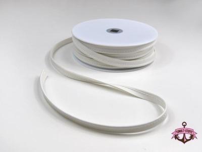 Kunstleder Paspelband in Creme - 1 Meter