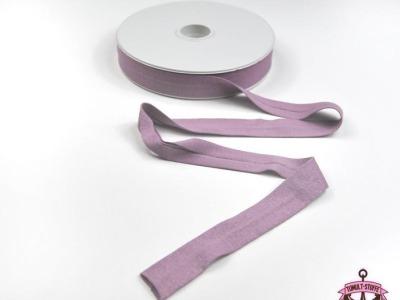 Jerseyband - 1 Meter in Flieder - Elastisches einfarbiges Baumwollband