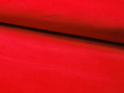 Roter Feincord 05 Meter