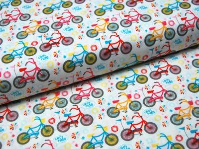 Girl Crazy Fahrrad Baumwolle von Riley Blake 0,5m