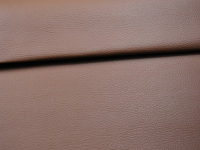 0 5m Kunstleder in Nussbraun - ...und kein Tier musste fuer dieses Leder sterben