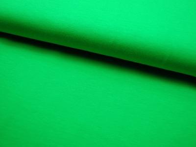 JERSEY - UNI: Blattgrün - 0,5 Meter