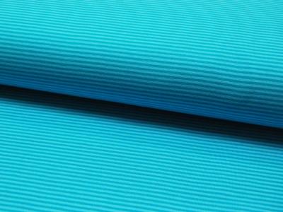 Jersey - Streifen Tuerkis - Helltuerkis - 0.5 Meter