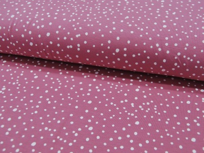 REST JERSEY DOTS Rose Punkte 065m